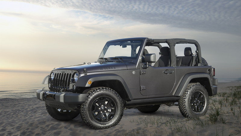 2014 Jeep Wrangler Willys Wheeler Edition High Resolution Exterior - image 532628
