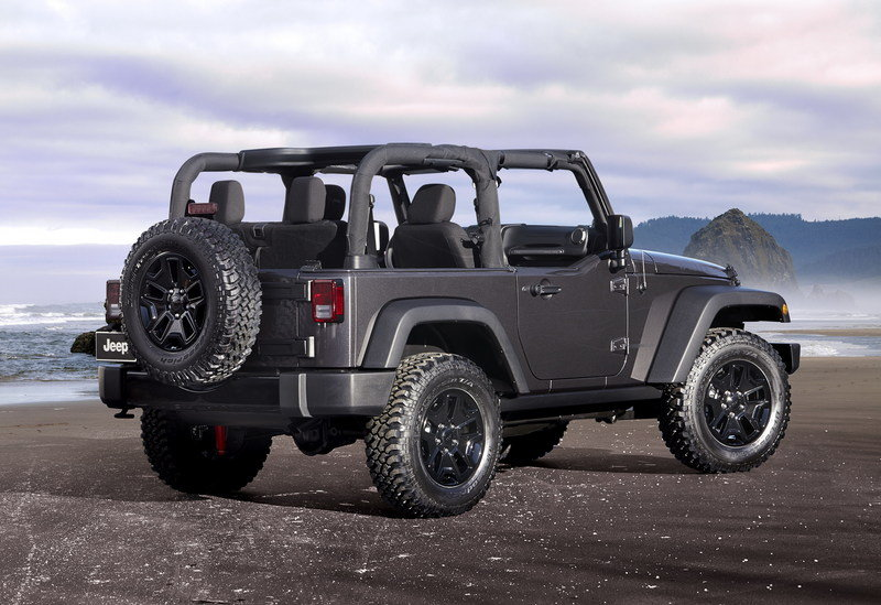 2014 Jeep Wrangler Willys Wheeler Edition High Resolution Exterior - image 532629