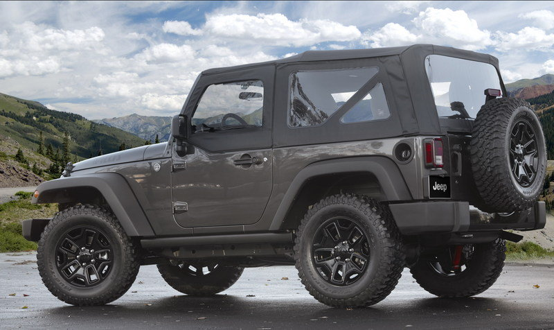 2014 Jeep Wrangler Willys Wheeler Edition High Resolution Exterior - image 532630