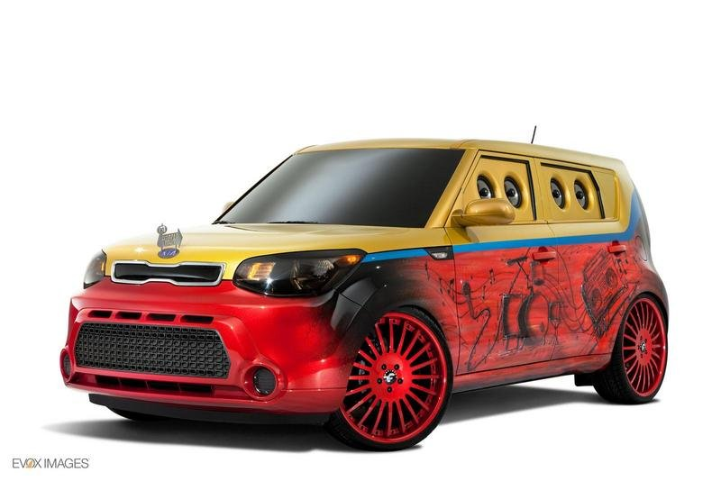 2014 Kia Vans Warped Tour Soul