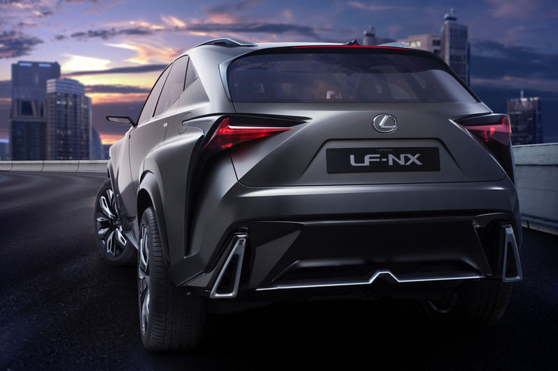 2013 Lexus LF-NX Turbo Concept High Resolution Exterior - image 533758