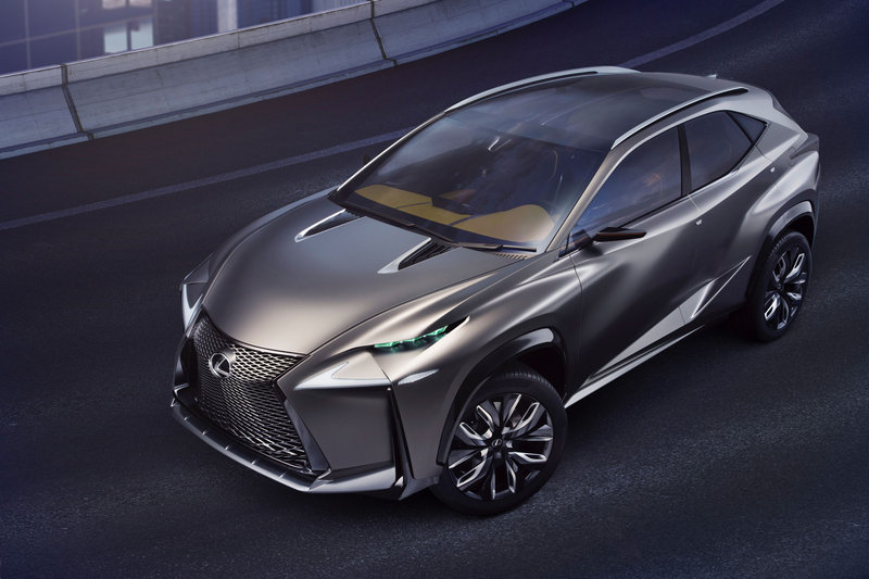 2013 Lexus LF-NX Turbo Concept High Resolution Exterior Wallpaper quality - image 533760