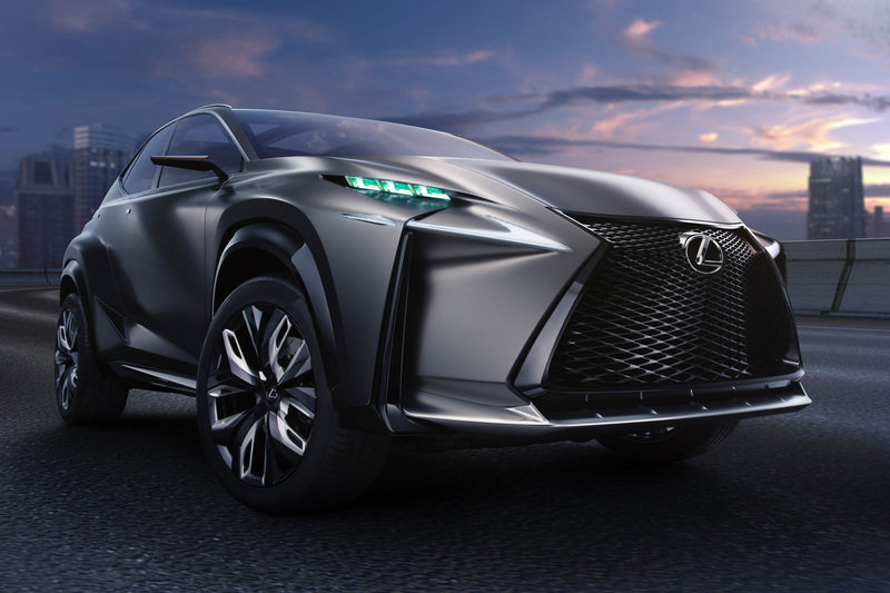 2013 Lexus LF-NX Turbo Concept High Resolution Exterior Wallpaper quality - image 533757