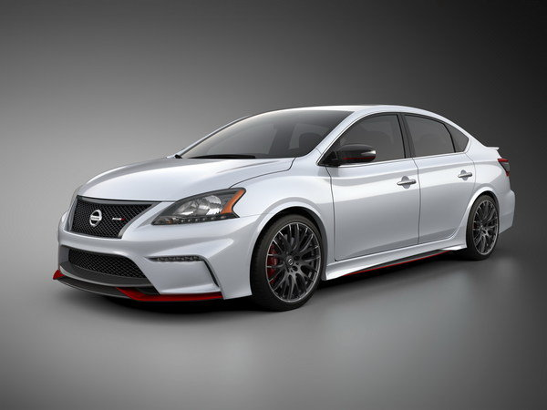 2013 Nissan Sentra NISMO Concept Review - Top Speed