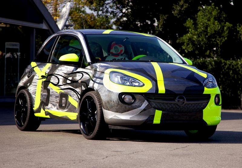 2014 Opel Adam by Valentino Rossi and Aldo Drudi