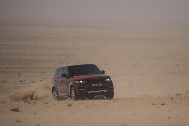 "Range Rover Sport Sets a New Record Crossing ""The Empty Quarters"" High Resolution Exterior - image 531164"