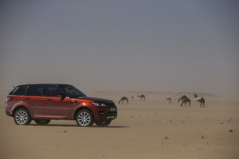 "Range Rover Sport Sets a New Record Crossing ""The Empty Quarters"" High Resolution Exterior - image 531167"