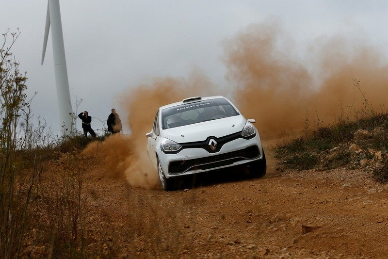 2013 Renault Clio R3T Rally Car