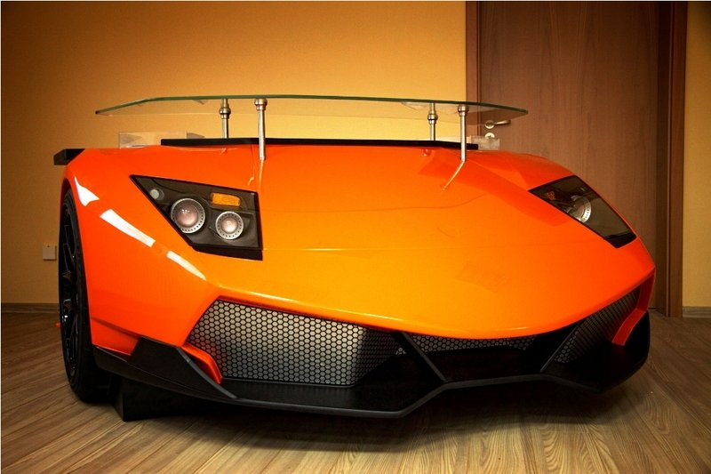 Car Gift Idea: Lamborghini Murcielago Desk