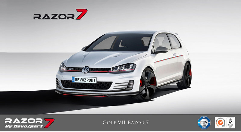 2013 Volkswagen Golf GTI Razor 7 by RevoZport High Resolution Exterior - image 532342
