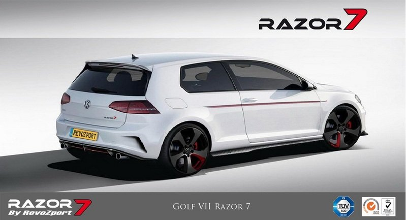 2013 Volkswagen Golf GTI Razor 7 by RevoZport High Resolution Exterior - image 532343