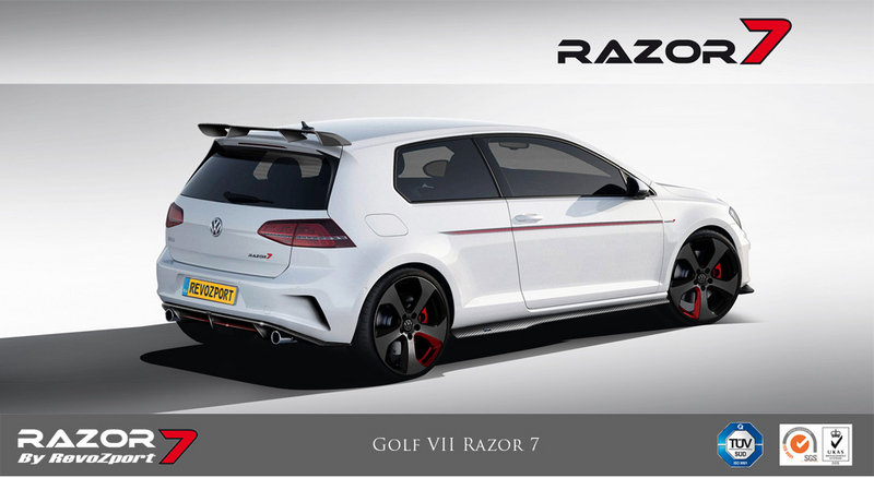2013 Volkswagen Golf GTI Razor 7 by RevoZport High Resolution Exterior - image 532344