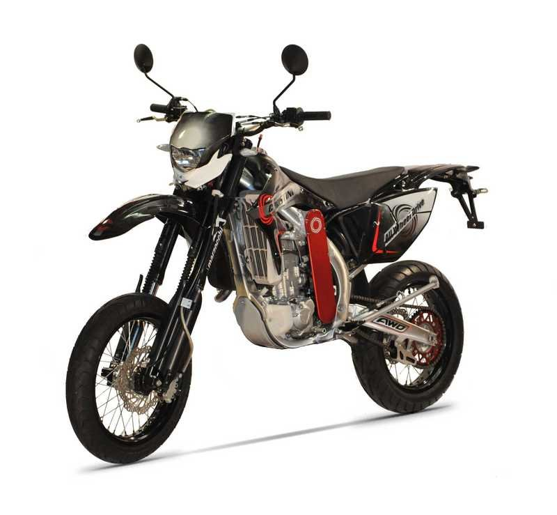 2014 Christini AWD 450 Super Moto High Resolution Exterior - image 534550