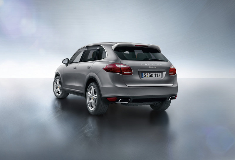 2013 Porsche Cayenne Platinum Edition High Resolution Exterior - image 534536