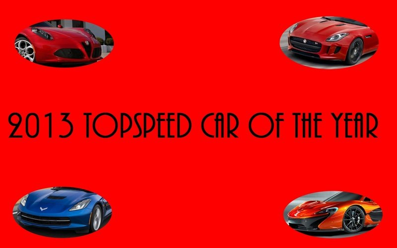 2013 TopSpeed Car of the Year