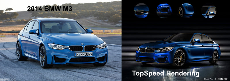 2015 BMW M3 Exterior Computer Renderings and Photoshop - image 535542