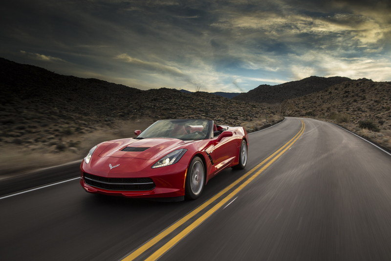2014 Chevrolet Corvette Stingray Convertible High Resolution Exterior Wallpaper quality - image 536263
