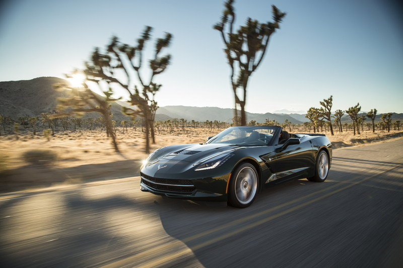 2014 Chevrolet Corvette Stingray Convertible High Resolution Exterior - image 536251