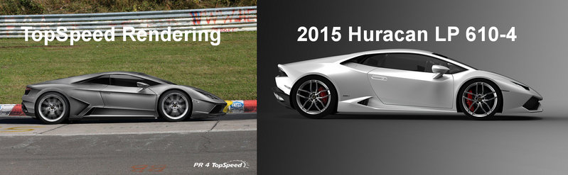 2015 - 2016 Lamborghini Huracán LP 610-4 Exterior Computer Renderings and Photoshop - image 536496