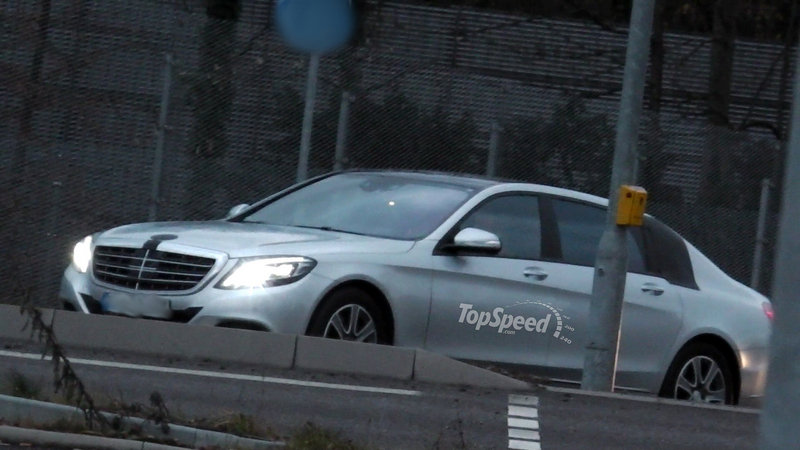 2016 Mercedes-Maybach S-Class Exterior Spyshots - image 536605