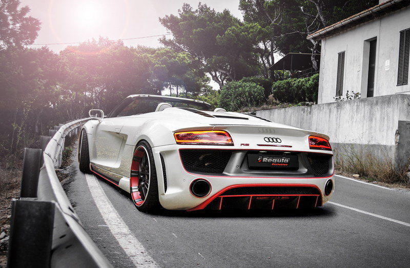 2014 Audi R8 Spyder by Regula Tuning High Resolution Exterior Wallpaper quality - image 534524