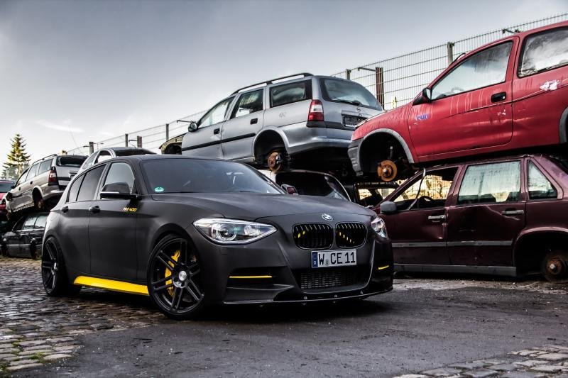 2013 BMW M135i MH1 400 By Manhart Racing