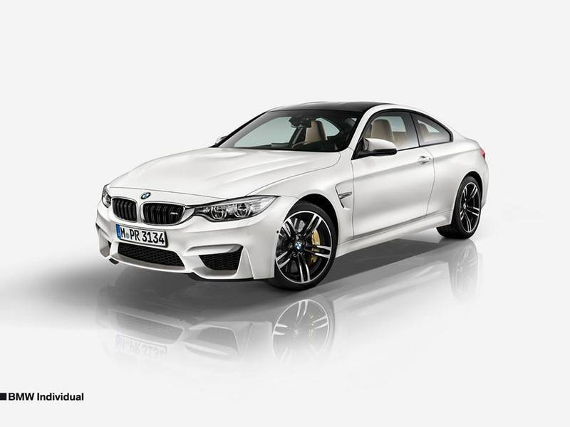 2015 BMW M4 Coupe Individual