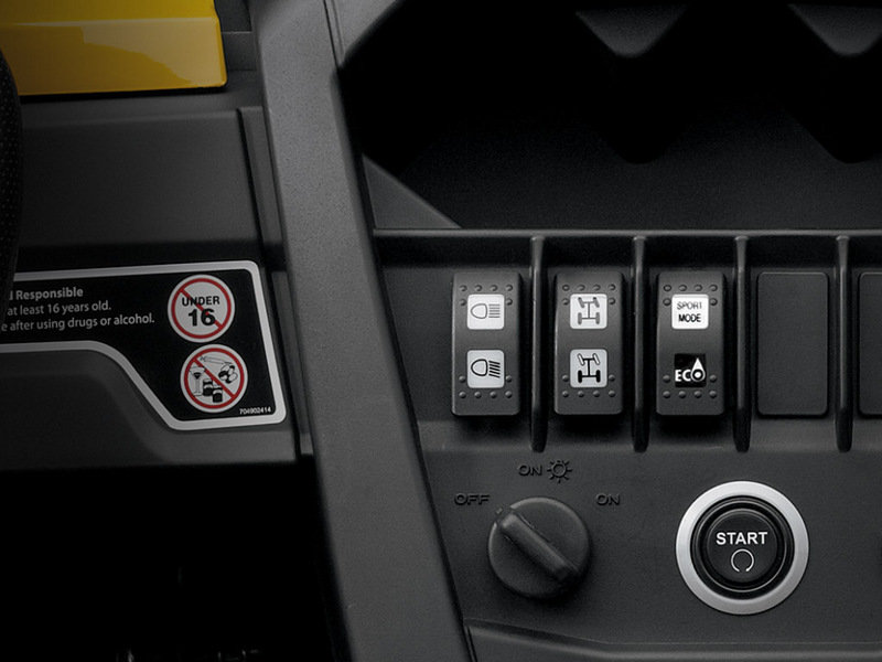 2014 Can-Am Commander XT Interior - image 535231