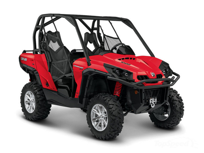 2014 Can-Am Commander XT High Resolution Exterior - image 535234