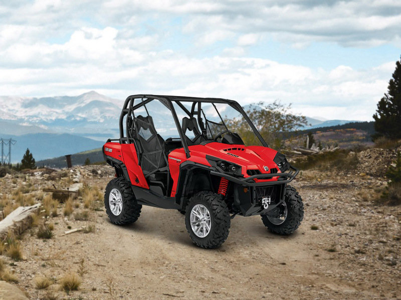 2014 Can-Am Commander XT High Resolution Exterior - image 535220