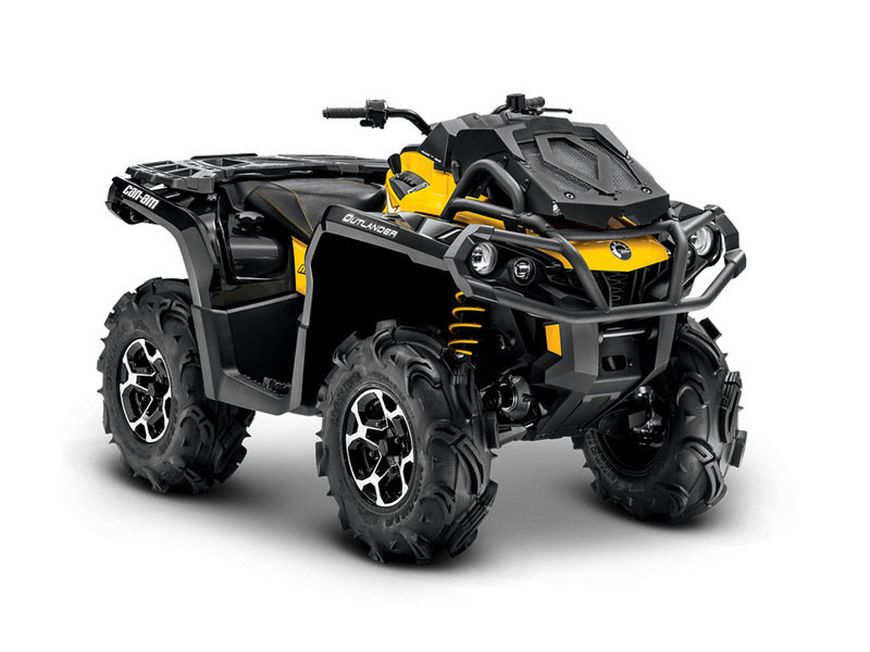 2014 Can-Am Outlander 650 X mr High Resolution Exterior - image 536979