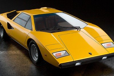 Car Gift Idea: Lamborghini Countach LP400 1/12 Scale Model