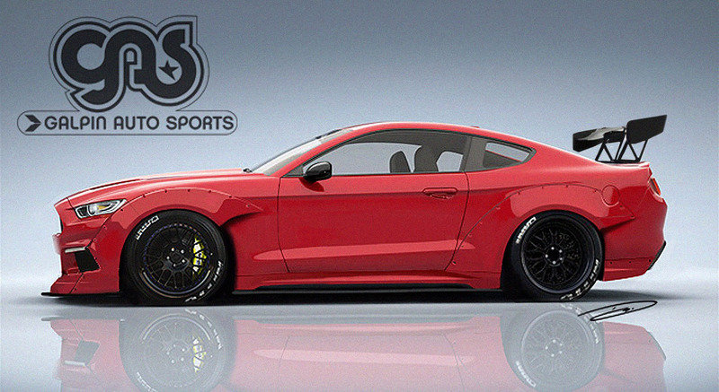 Tuners Already Releasing Renderings of Tuned 2015 Ford Mustangs