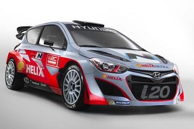 2014 Hyundai i20 WRC by Hyundai Shell World Rally Team