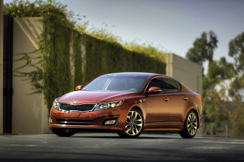 2014 - 2015 Kia Optima Gallery 535901 | Top Speed