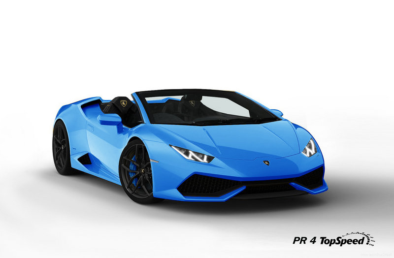 2016 Lamborghini Huracán LP 610-4 Spyder Exterior Exclusive Renderings Computer Renderings and Photoshop - image 536958