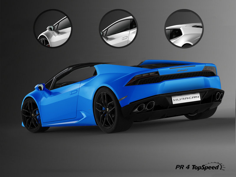 2016 Lamborghini Huracán LP 610-4 Spyder Exterior Exclusive Renderings Computer Renderings and Photoshop - image 536959