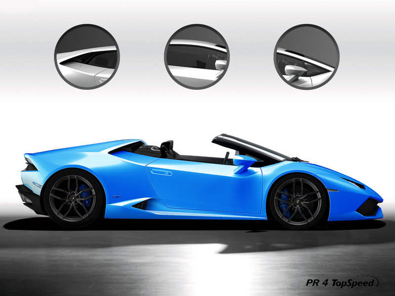 2016 Lamborghini Huracán LP 610-4 Spyder Exterior Exclusive Renderings Computer Renderings and Photoshop - image 536956
