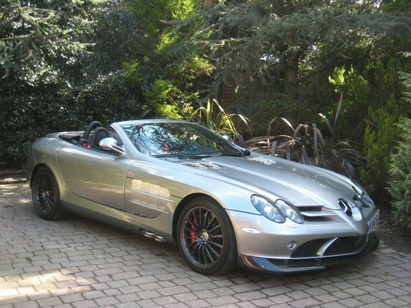 McLaren Mercedes SLR 722S can be yours for $493,000