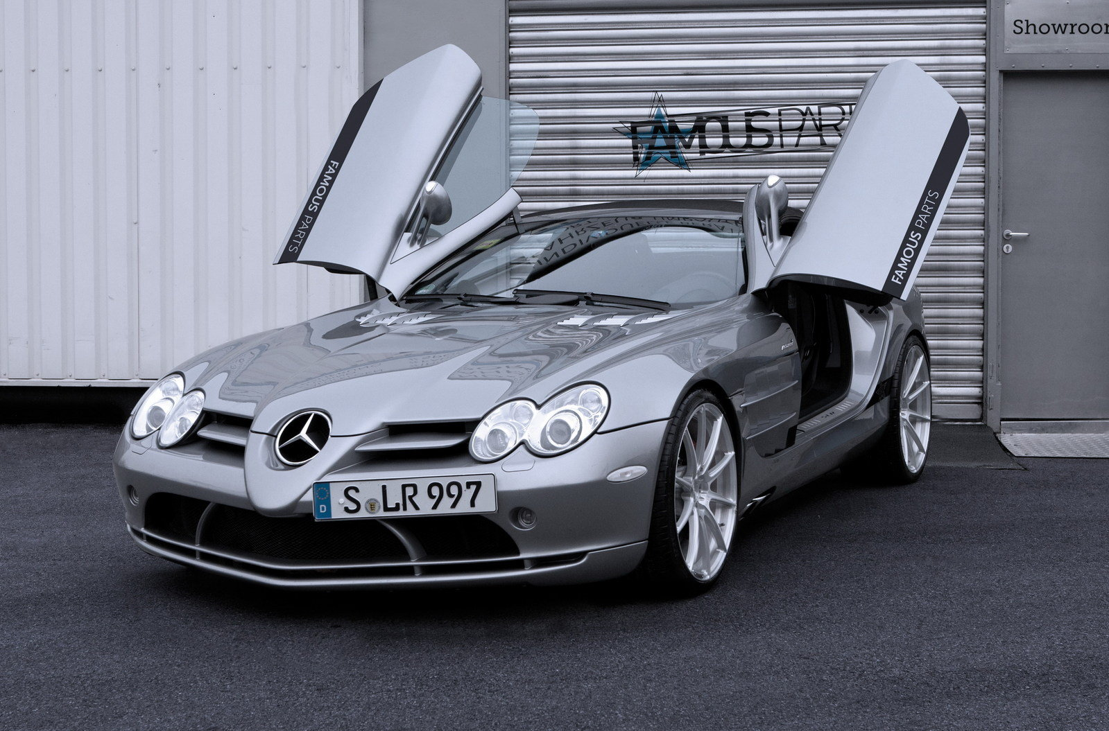 2008 mercedes benz slr mclaren roadster by famous parts review top speed