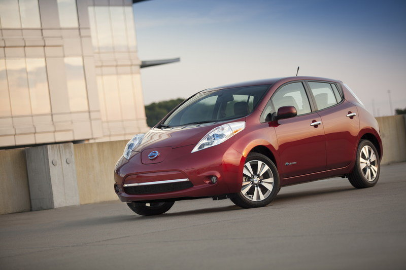 2014 Nissan Leaf High Resolution Exterior Wallpaper quality - image 534977