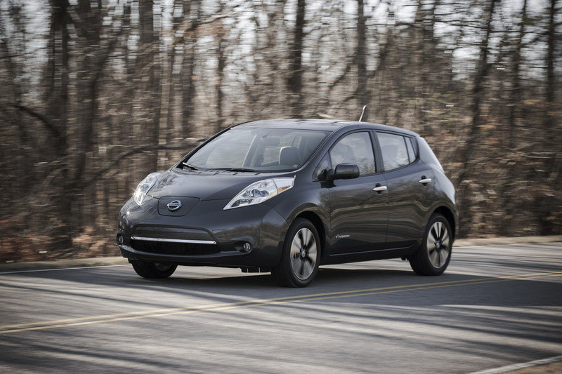 2014 Nissan Leaf High Resolution Exterior Wallpaper quality - image 534951
