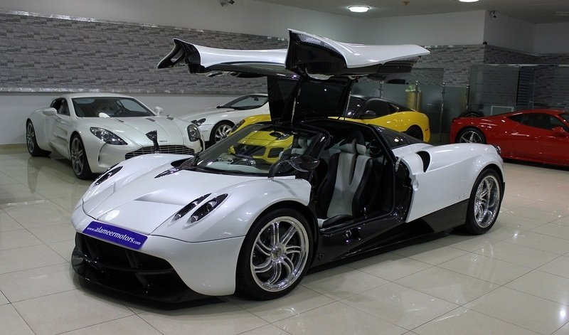 Pagani Huayra put up for sale in Dubai
