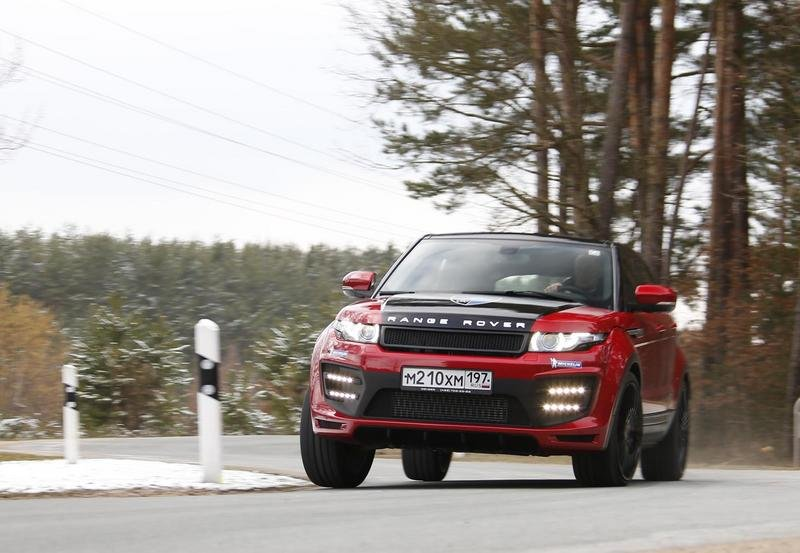 2014 Range Rover Evoque by Larte
