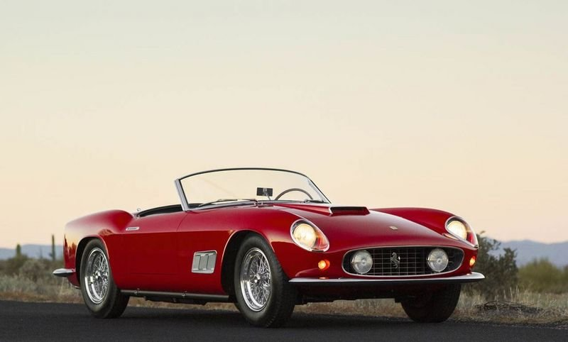Rare Ferrari 250 GT LWB California Spider To Hit The Auction Block