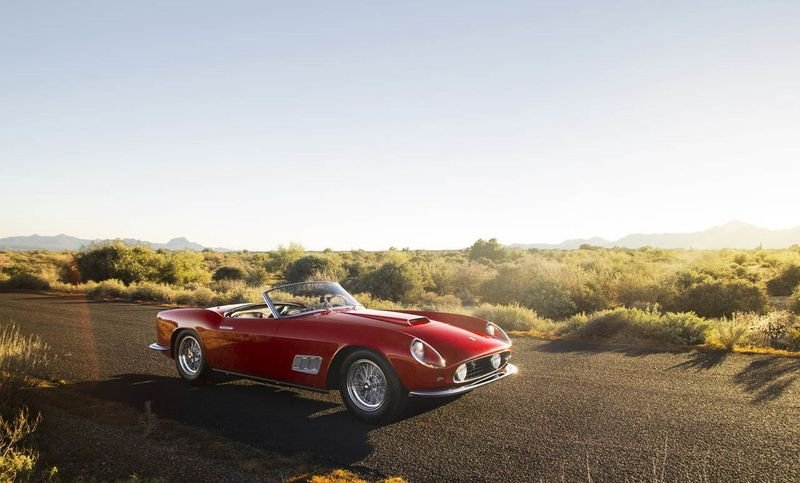 Rare Ferrari 250 GT LWB California Spider To Hit The Auction Block High Resolution Exterior - image 536889