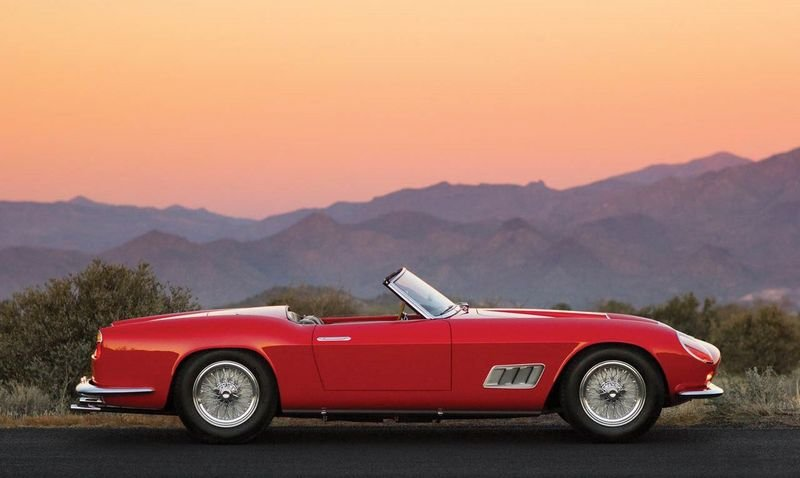 Rare Ferrari 250 GT LWB California Spider To Hit The Auction Block High Resolution Exterior - image 536891