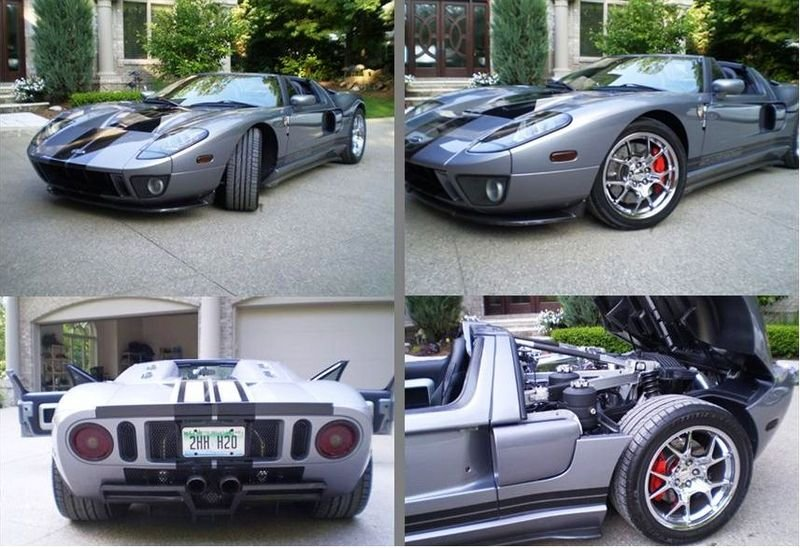 Rare Ford Gt X Tt Is Up For Sale For