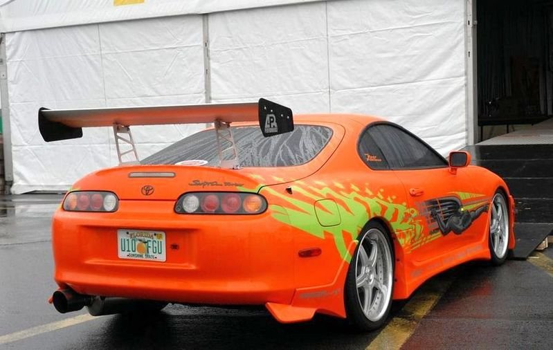 "1995 Toyota Supra Turbo MK-IV ""The Fast and the Furious"" High Resolution Exterior - image 534539"