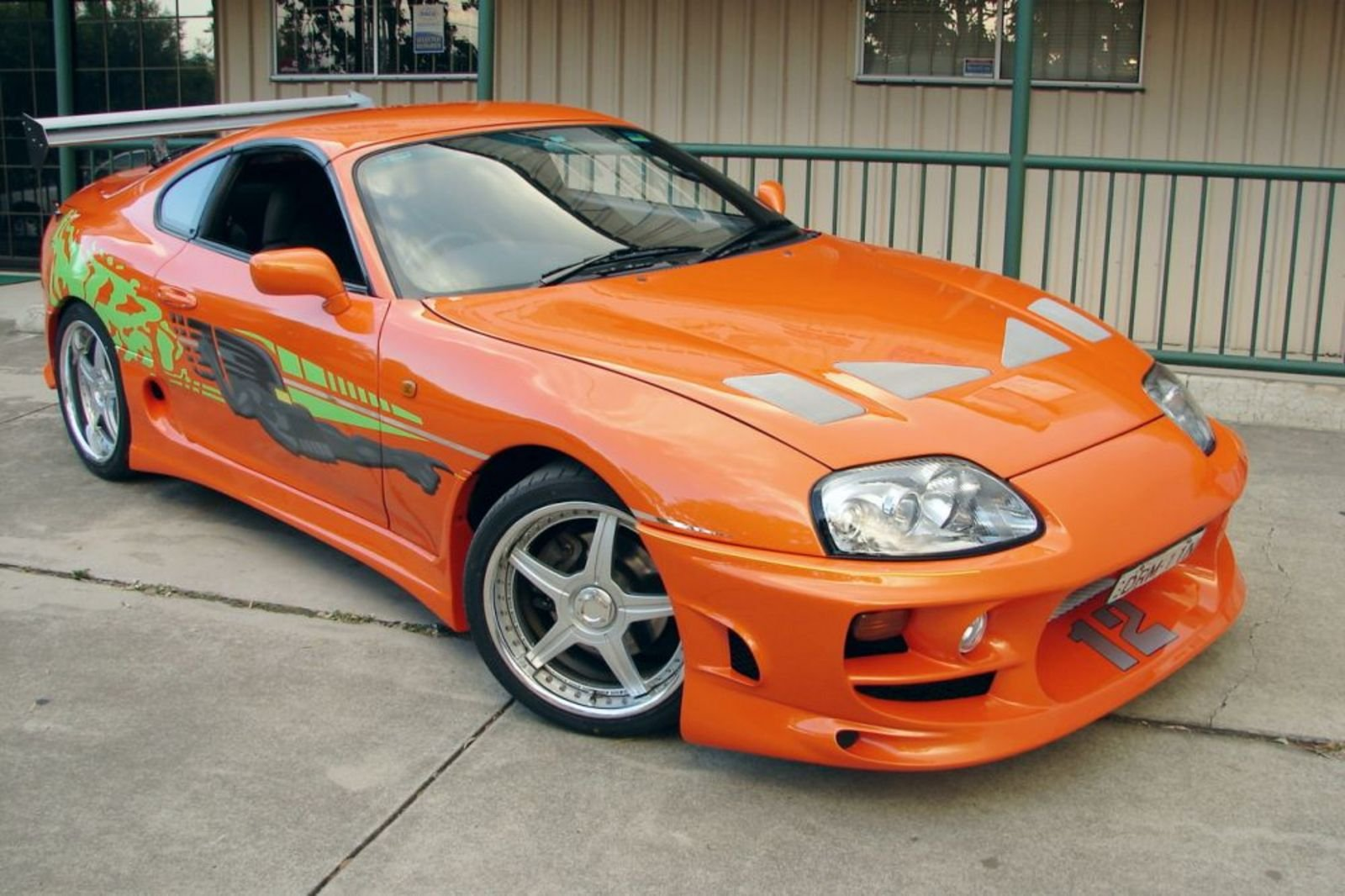 "1995 Toyota Supra Turbo MK-IV ""The Fast And The Furious ..."